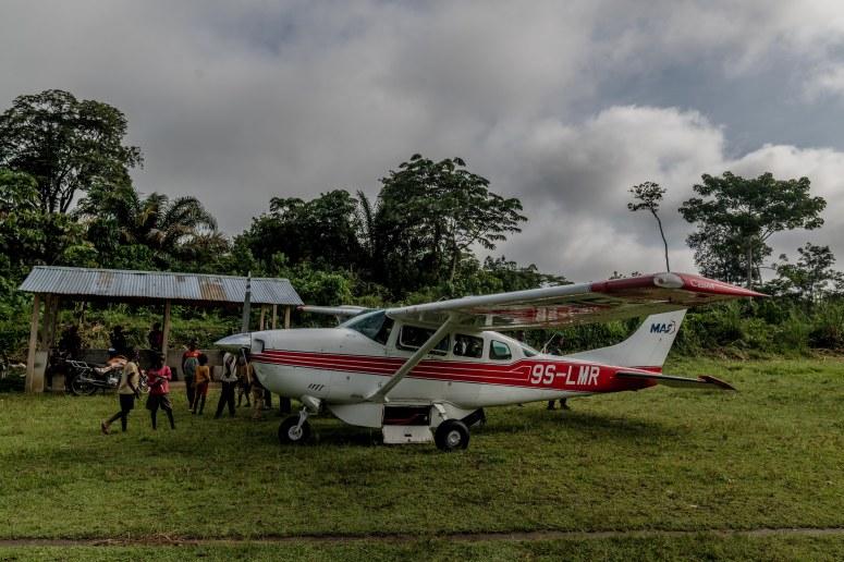 aircraft prep for departure monkoto